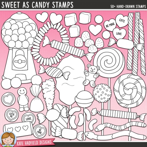 Sweet As Candy Stamps