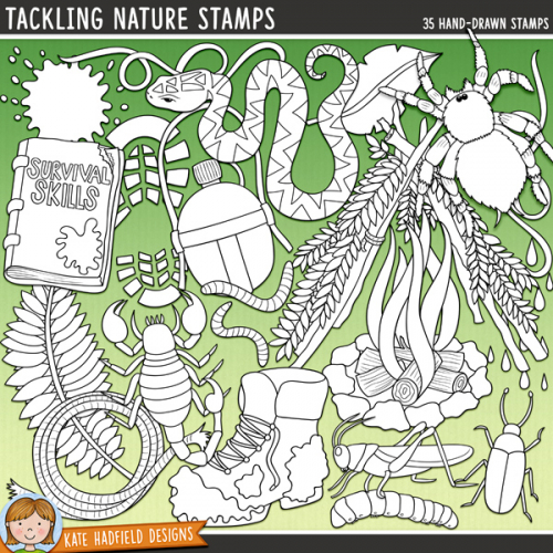 Tackling Nature Stamps