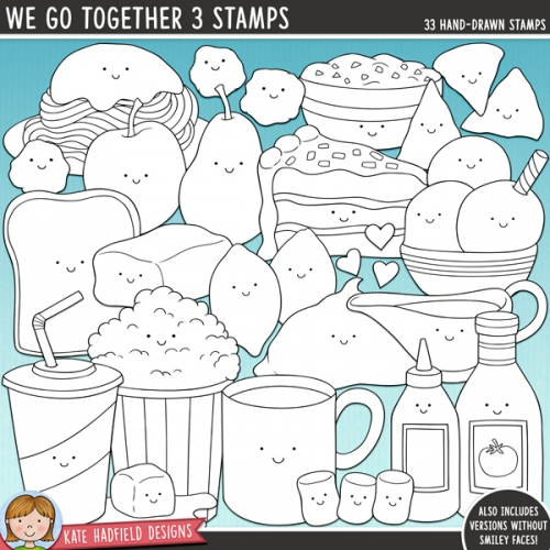 We Go Together 3 Stamps