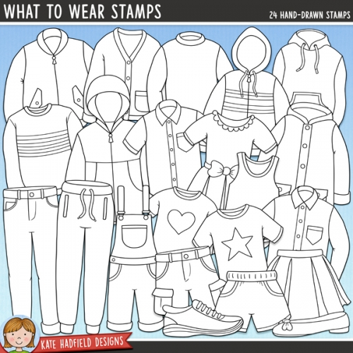 What To Wear Stamps