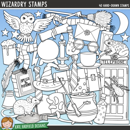 Wizardry Stamps