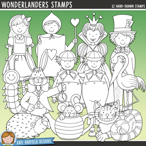 Wonderlanders Stamps
