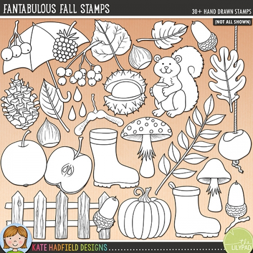 Fantabulous Fall Stamps
