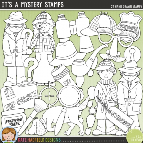 It's a Mystery Stamps