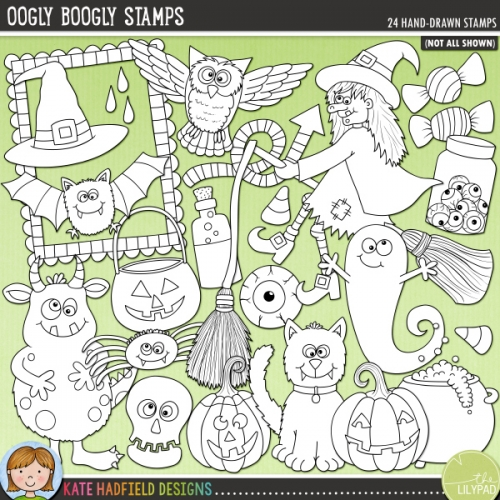 Oogly Boogly Stamps