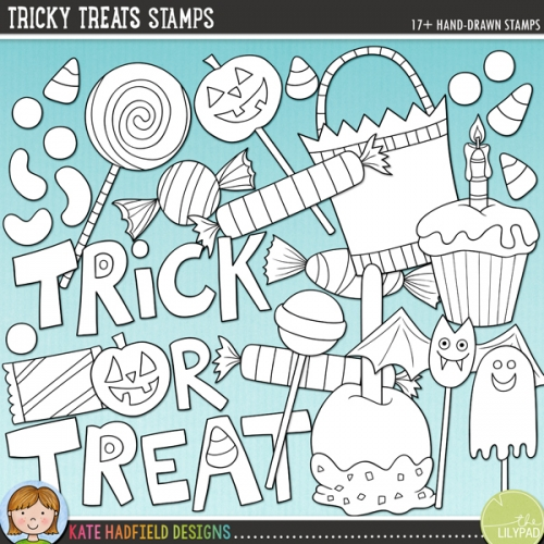 Tricky Treats Stamps
