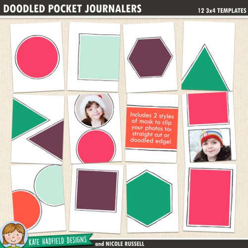Doodled Pocket Journalers