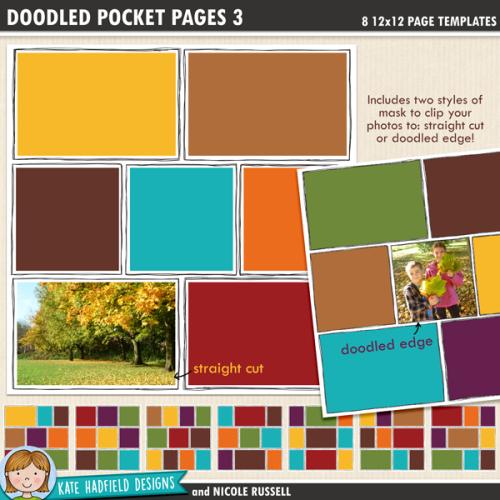 Doodled Pocket Pages 3
