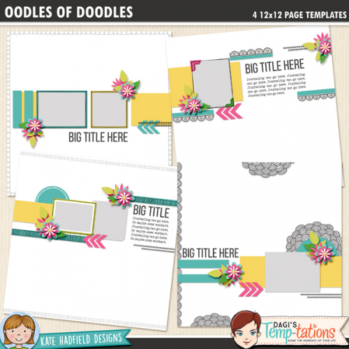 Oodles of Doodles templates