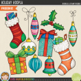 Holiday Hoopla Ornaments