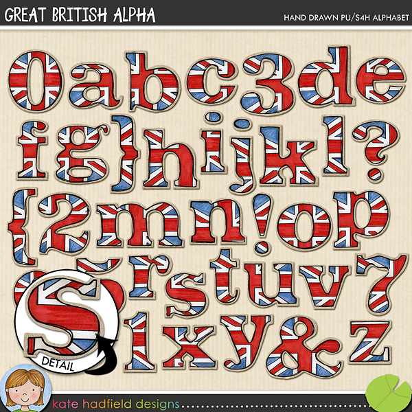 Hand drawn alpha with a distinctly British feel! Coordinates with my Cool Britannia and Great Britons doodles! Contains lowercase letters, numerals and the following punctuation: { } ? ! &FOR PERSONAL & EDUCATIONAL USE (please see myTerms of Usefor more information)