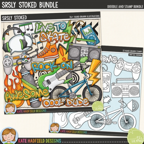 Srsly Stoked Bundle