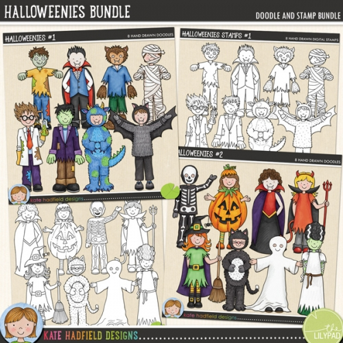 Halloweenies Bundle
