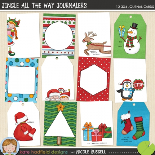 Jingle All the Way Journalers
