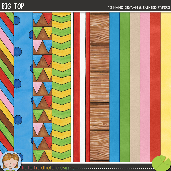 Big Top paper pack