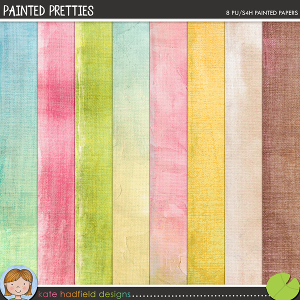 Set of 8 delicately painted and textured papers that are perfect for adding a touch of hand crafted whimsy to your pages and projects!FOR PERSONAL & EDUCATIONAL USE (please see my Terms of Use for more information)