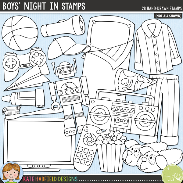 Boys' Night In Stamps