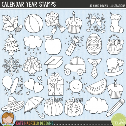 Calendar Year Stamps