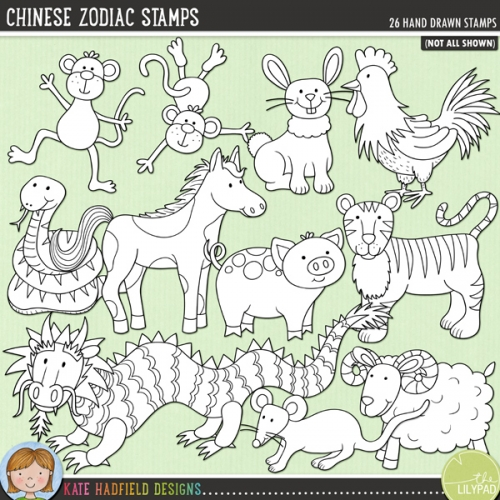 Chinese Zodiac Stamps
