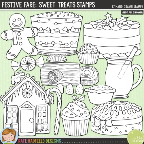 Festive Fare: Sweet Treats Stamps