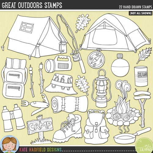 Great Outdoors Stamps