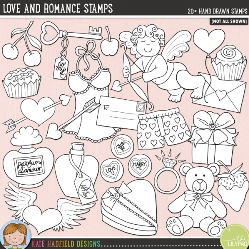 Love and Romance Stamps