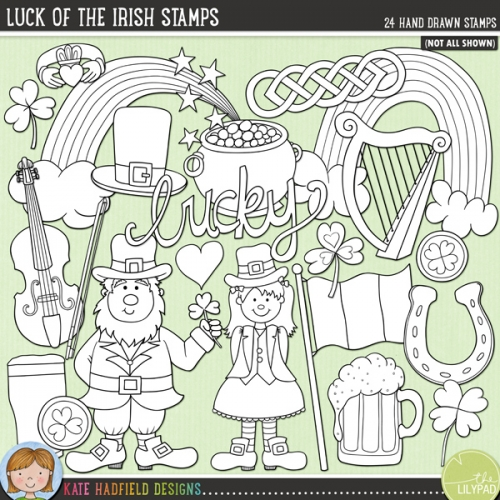 Luck of the Irish Stamps