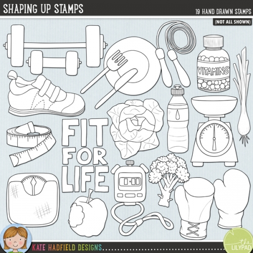 Shaping Up Stamps