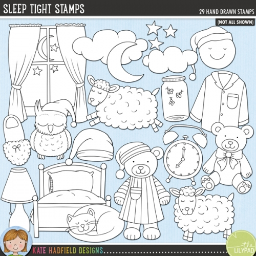 Sleep Tight Stamps