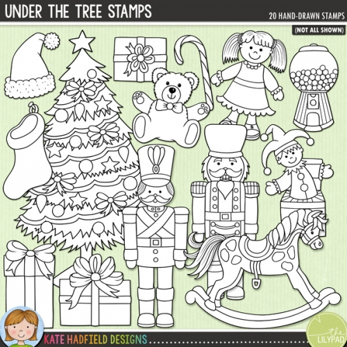 Under the Tree Stamps