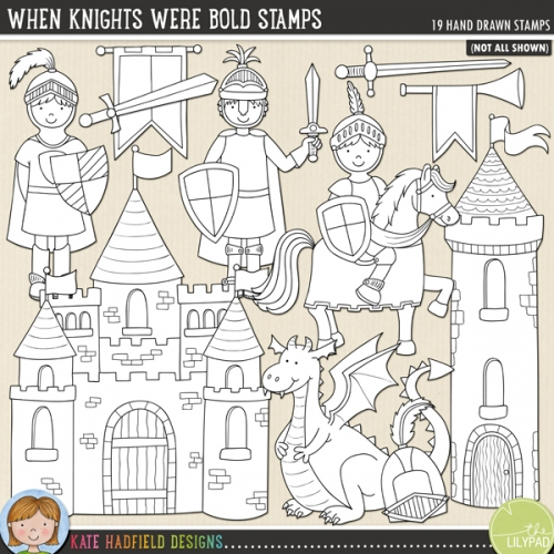 When Knights Were Bold Stamps