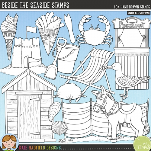 Beside The Seaside Stamps
