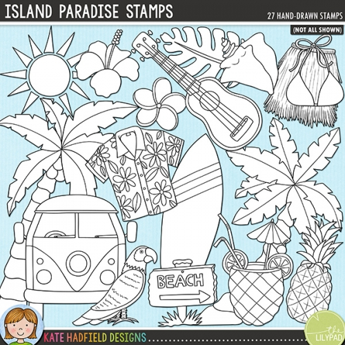 Island Paradise Stamps
