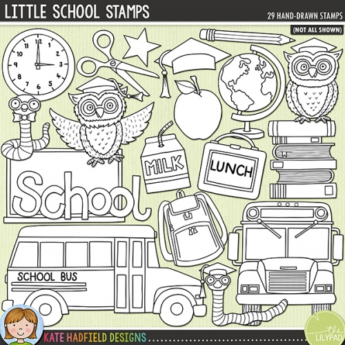 Little School Stamps
