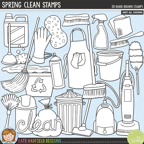 Spring Clean Stamps