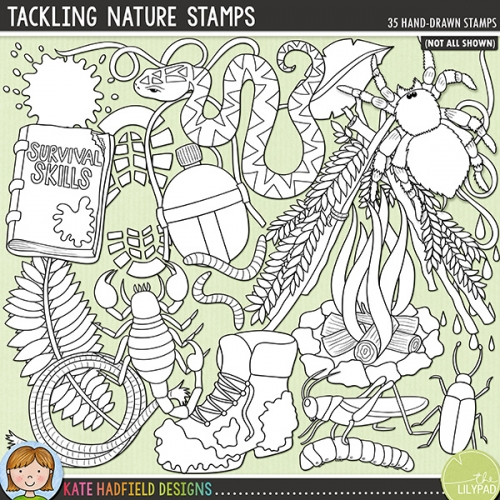 Tackling Nature Stamps