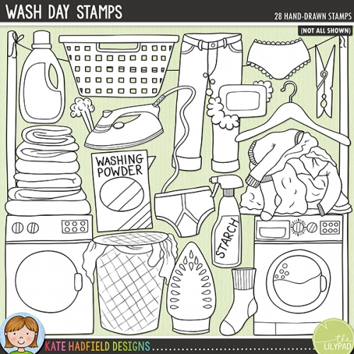 Wash Day Stamps