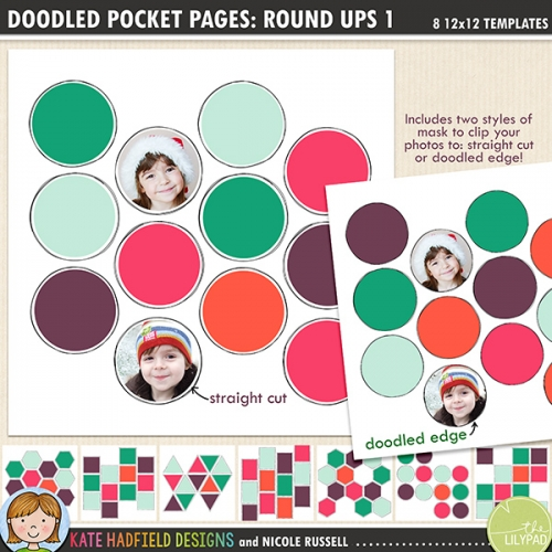 Doodled Pocket Pages: Round Ups 1