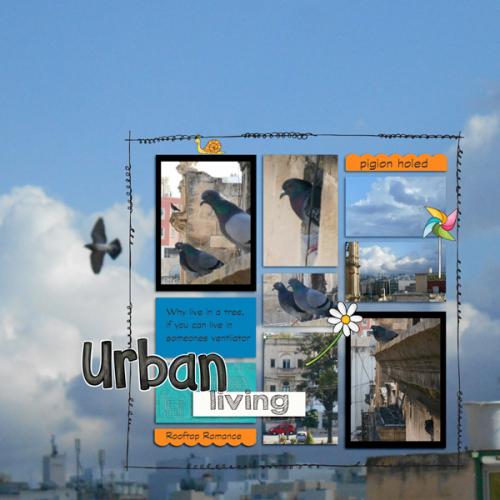 Urban living,