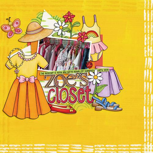 Zoe's closet