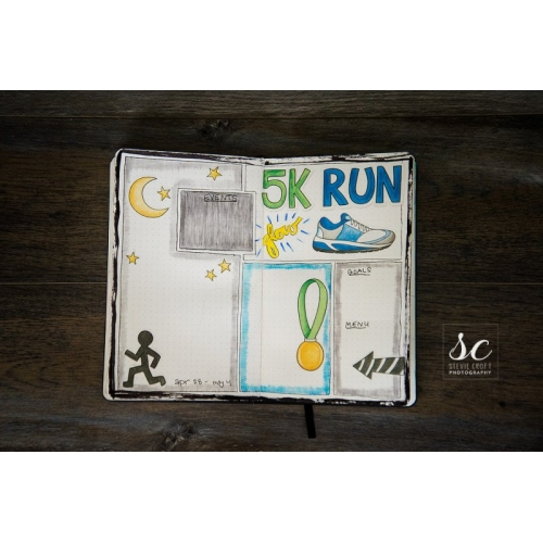 Bujo: Glow Run
