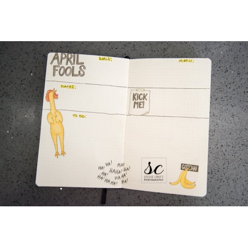 Bujo: April Fools Day