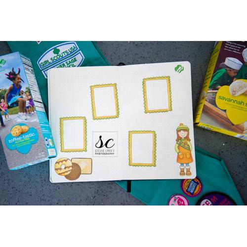 Bujo: Girl Scout Cookies