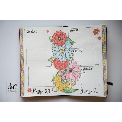 Bujo: May Flowers