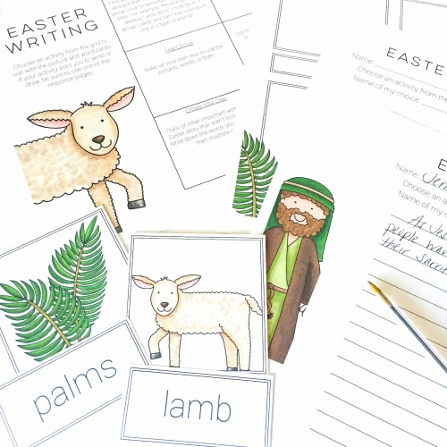 Easter Story Cards: Christian Theme