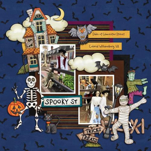Duke of Gloucester Street skeletons