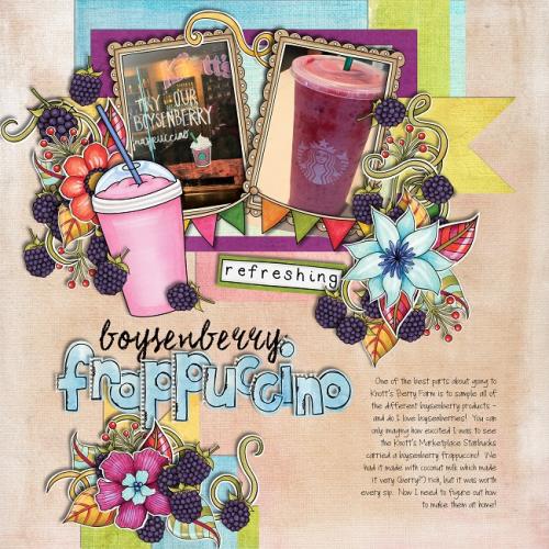 Boysenberry Frappuccino