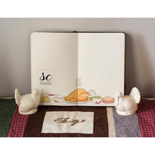 Bujo: Thanksgiving Feast