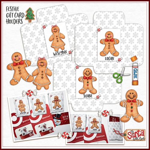 Festive Gift Card Holders