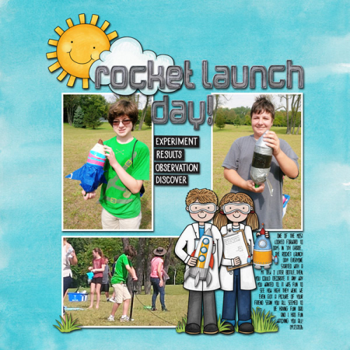 rocket launch day